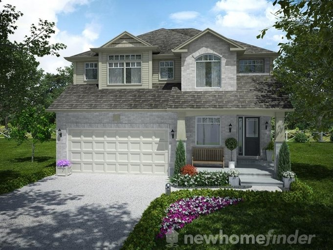 Harris floor plan at Mayberry Hill by Thomasfield Homes Limited in Guelph, Ontario