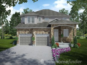 The Thomson new home model plan at the Mayberry Hill by Thomasfield Homes Limited in Guelph