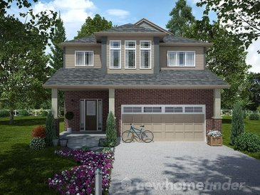 The Brunswick new home model plan at the Mayberry Hill by Thomasfield Homes Limited in Guelph