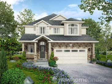 The Tisbury 2 new home model plan at the Mayberry Hill by Thomasfield Homes Limited in Guelph
