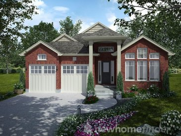 The Springwater new home model plan at the Mayberry Hill by Thomasfield Homes Limited in Guelph