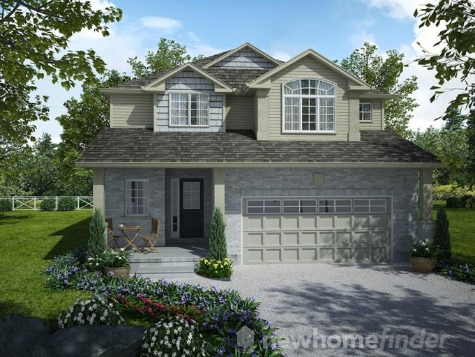 Tisbury floor plan at Mayberry Hill by Thomasfield Homes Limited in Guelph, Ontario