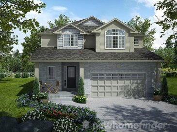 The Tisbury new home model plan at the Mayberry Hill by Thomasfield Homes Limited in Guelph