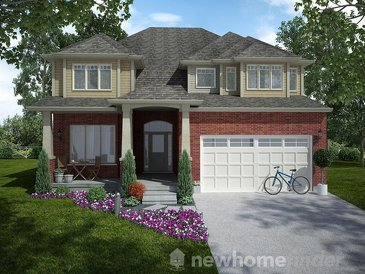 The Norfolk new home model plan at the Mayberry Hill by Thomasfield Homes Limited in Guelph