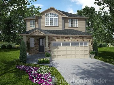 The Briarfield new home model plan at the Mayberry Hill by Thomasfield Homes Limited in Guelph
