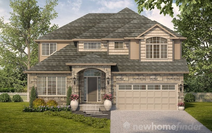 Briarfield floor plan at Mayberry Hill by Thomasfield Homes Limited in Guelph, Ontario