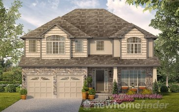 The Argyle 4 new home model plan at the Mayberry Hill by Thomasfield Homes Limited in Guelph