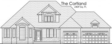 The Cortland new home model plan at the Burgessville Manor Estates by Thomasfield Homes Limited in Burgessville
