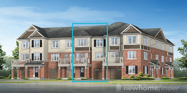 The Dorchester new home model plan at the Hawthorne South Village by Mattamy Homes in Milton