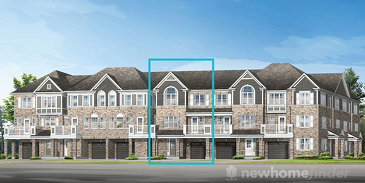 The Wesley new home model plan at the Hawthorne South Village by Mattamy Homes in Milton