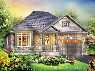 The Chelsey new home model plan at the Woodway Trails by Eastforest Homes in Simcoe
