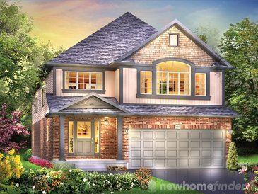 The Indigo new home model plan at the Woodway Trails by Eastforest Homes in Simcoe