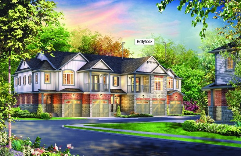 Hollyhock floor plan at Andover Trails by Eastforest Homes in London, Ontario