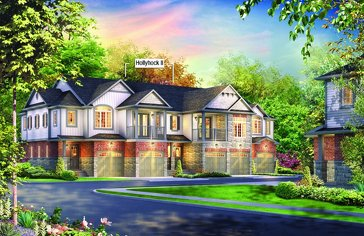 The Hollyhock II new home model plan at the Andover Trails by Eastforest Homes in London