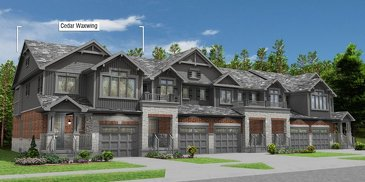 The Cedar Waxwing - Cnr new home model plan at the Eby Estates by Eastforest Homes in Kitchener
