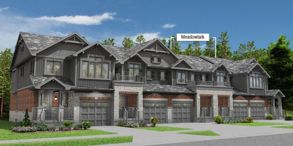 Meadowlark floor plan at Eby Estates by Eastforest Homes in Kitchener, Ontario