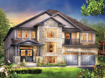 The Ellsworth new home model plan at the Eby Estates by Eastforest Homes in Kitchener