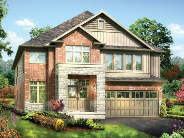 The Roth new home model plan at the Grandville by Eastforest Homes in Paris