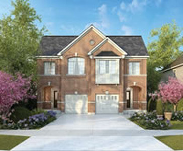 The Addington new home model plan at the Westfield by Great Gulf in Brampton
