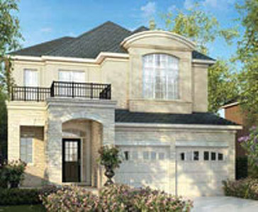 The Fleetwood new home model plan at the Westfield by Great Gulf in Brampton