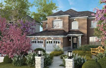 The Pelham new home model plan at the Rolling Meadows by Great Gulf in Thorold