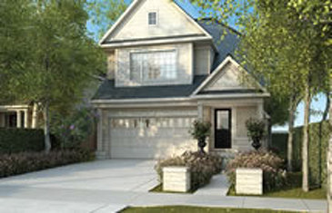 The Lincoln new home model plan at the Rolling Meadows by Great Gulf in Thorold