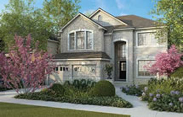 The Fenwick new home model plan at the Rolling Meadows by Great Gulf in Thorold