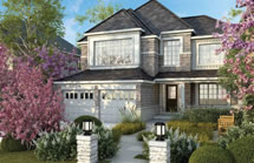 The Clifton new home model plan at the Rolling Meadows by Great Gulf in Thorold