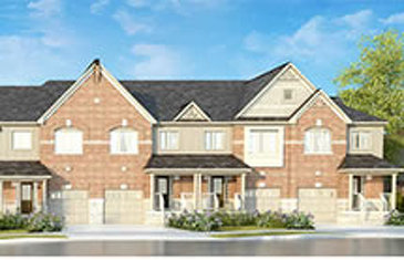 The Cameron new home model plan at the Rolling Meadows by Great Gulf in Thorold