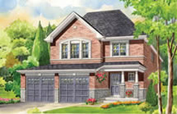 The Marigold new home model plan at the Summerlyn Village by Great Gulf in Bradford