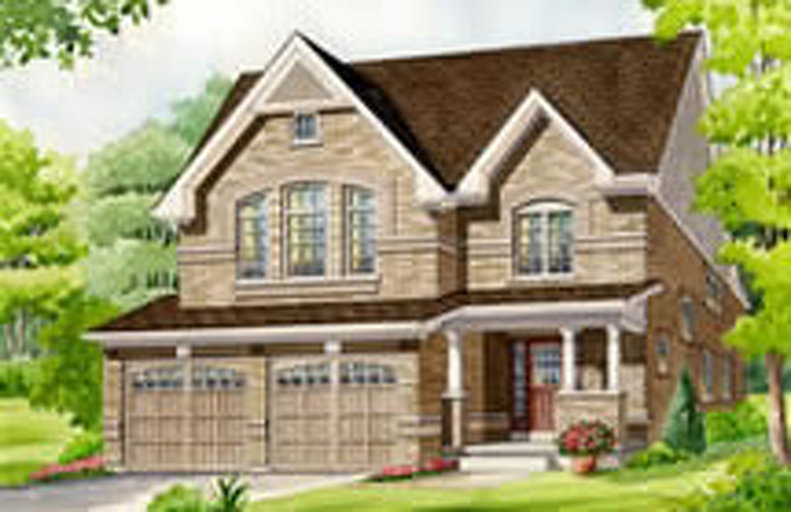 Honeysuckle  floor plan at Summerlyn Village by Great Gulf in Bradford, Ontario