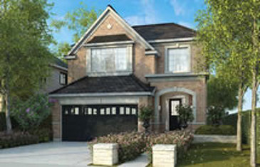 The Carnation new home model plan at the Mount Pleasant (GG) by Great Gulf in Brampton