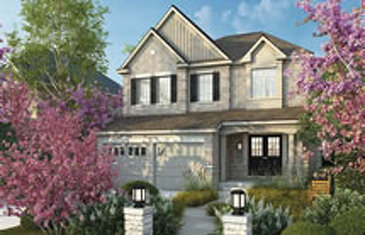 The Lavender new home model plan at the Mount Pleasant (GG) by Great Gulf in Brampton