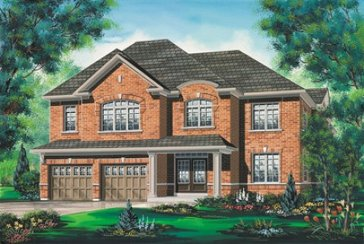 The Muskoka new home model plan at the Valleylands of the Credit River (FG) by Fieldgate Homes in Brampton