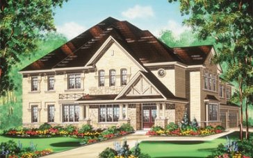 The Temagami new home model plan at the Valleylands of the Credit River (FG) by Fieldgate Homes in Brampton