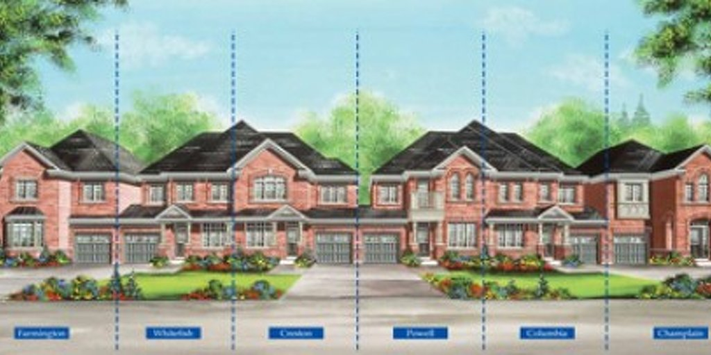 Columbia floor plan at Valleylands of the Credit River (FG) by Fieldgate Homes in Brampton, Ontario