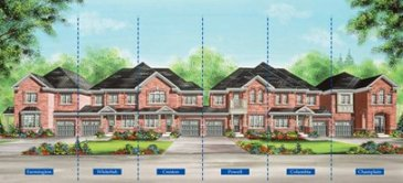 The Columbia new home model plan at the Valleylands of the Credit River (FG) by Fieldgate Homes in Brampton