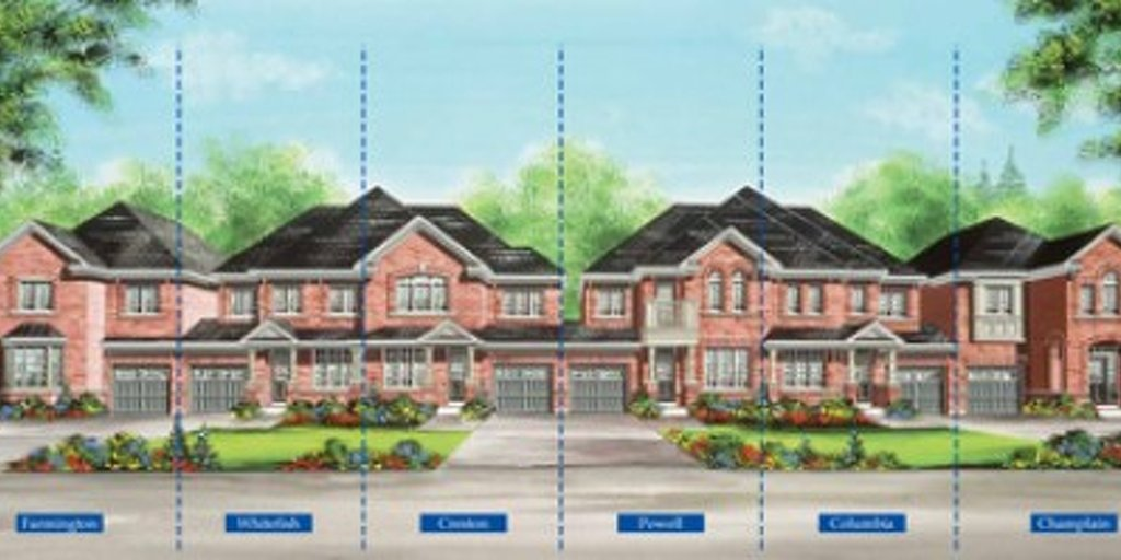 Powell floor plan at Valleylands of the Credit River (FG) by Fieldgate Homes in Brampton, Ontario