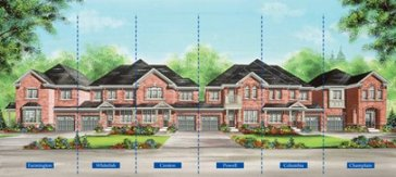 The Powell new home model plan at the Valleylands of the Credit River (FG) by Fieldgate Homes in Brampton