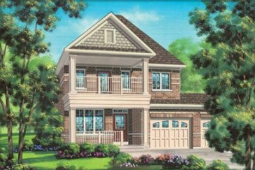 The Dumont new home model plan at the Impressions in Kleinburg by Fieldgate Homes in Woodbridge
