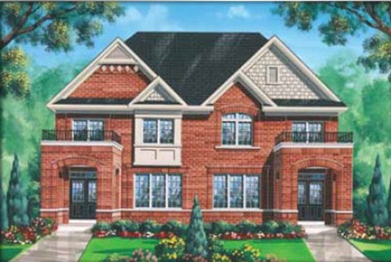 Valette floor plan at Impressions in Kleinburg by Fieldgate Homes in Woodbridge, Ontario