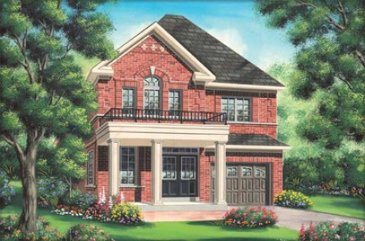 The Clausell new home model plan at the Impressions in Kleinburg by Fieldgate Homes in Woodbridge