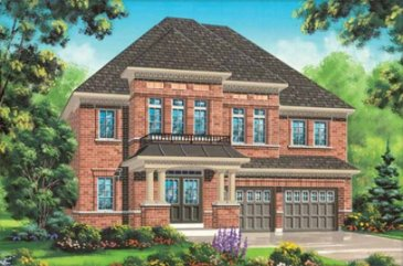 The Monet new home model plan at the Impressions in Kleinburg by Fieldgate Homes in Woodbridge