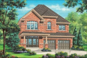 The Bewdell new home model plan at the Impressions in Kleinburg by Fieldgate Homes in Woodbridge