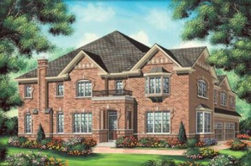 The Bartlett  new home model plan at the Impressions in Kleinburg by Fieldgate Homes in Woodbridge
