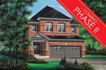 The Russet new home model plan at the Aurora Trails by Fieldgate Homes in Witchurch-Stouffville