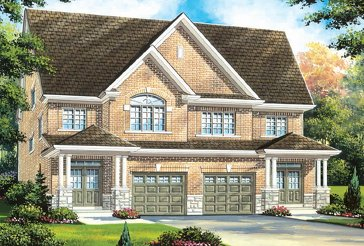 The Brampton 9H new home model plan at the Quails Hollow by Greenpark in Brampton