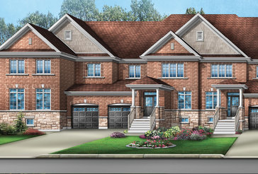 The Addison 1 new home model plan at the Mayfield Village by Greenpark in Brampton