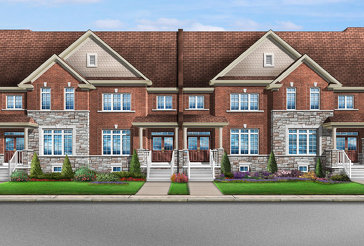 The Bellwood 1 new home model plan at the Mayfield Village by Greenpark in Brampton