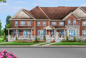 The Bellwood 9ES new home model plan at the Mayfield Village by Greenpark in Brampton